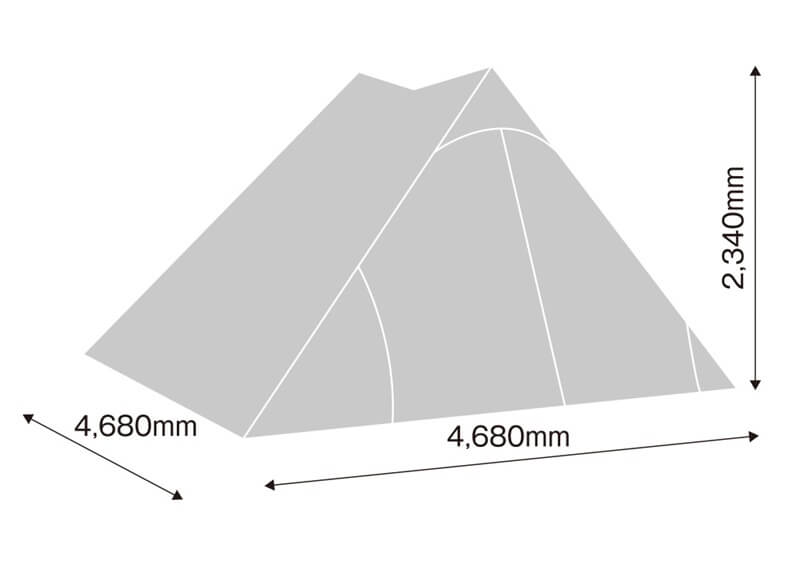 tent-Mark DESIGNS BLACK SUMMIT GG