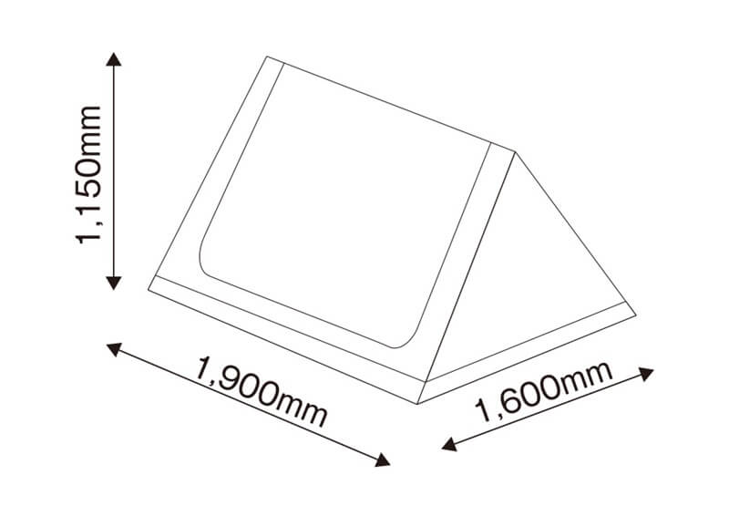 tent-Mark DESIGNS 炎幕フロンティア インナーテント