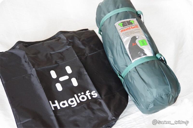BE-PAL 2021年4月号 haglofs スタッフバッグ