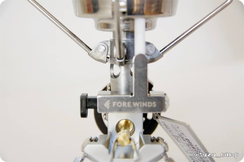 FORE WINDS マイクロキャンプストーブ