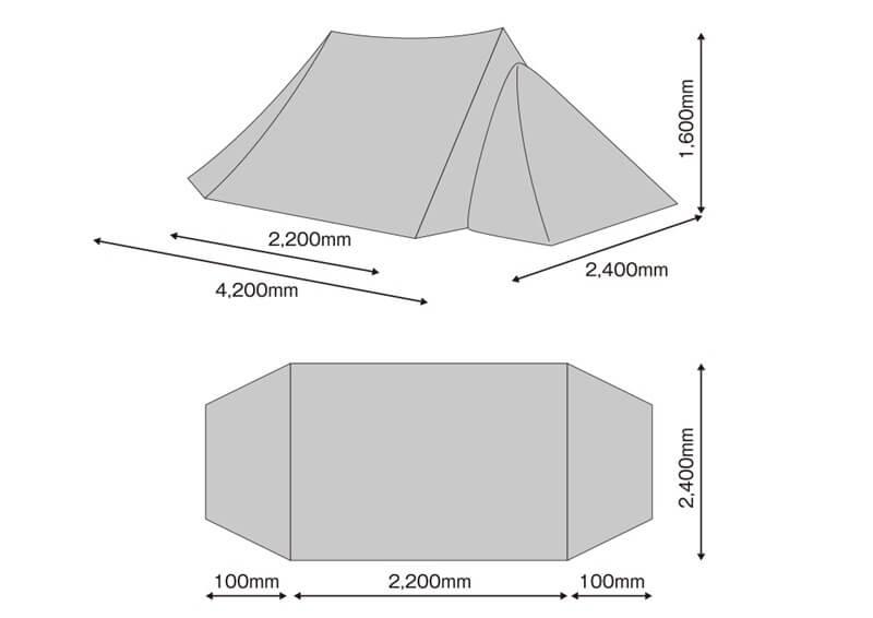 tent-Mark DESIGNS ツーピークキャビン