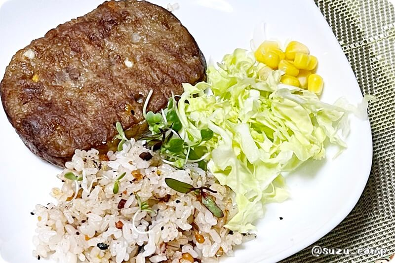 BE-PAL 2021年5月号 SHO' 肉厚グリルパン マルシンハンバーグ ワンプレート夜食!