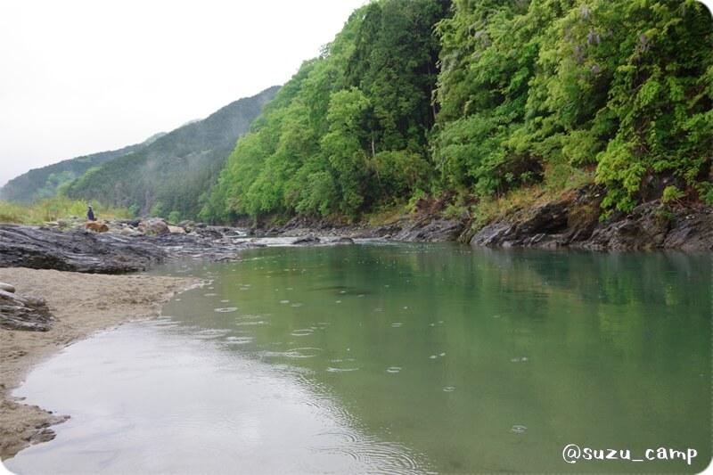 REDROCK 雨の大芦川