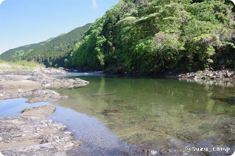 REDROCK 透明感の凄い大芦川