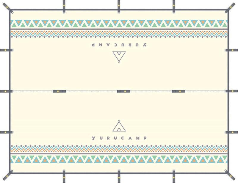 ゆるキャン△防水タープ 3x4m