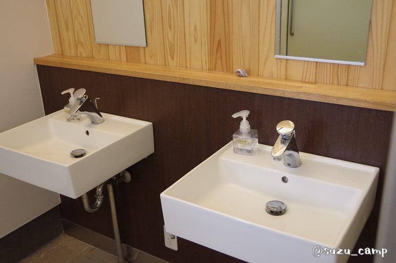 陣馬形山キャンプ場 トイレ