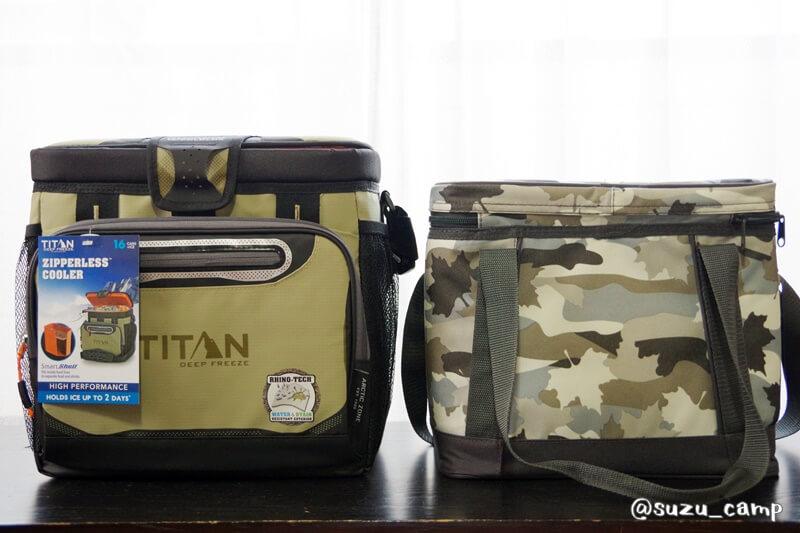 titan cooler ロゴス比較